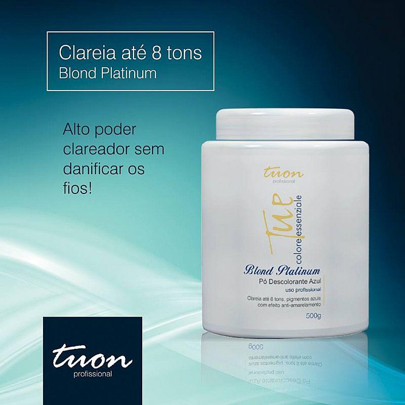 Po Descolorante Blond Platinum (ate 8 Tons) Pote 500g