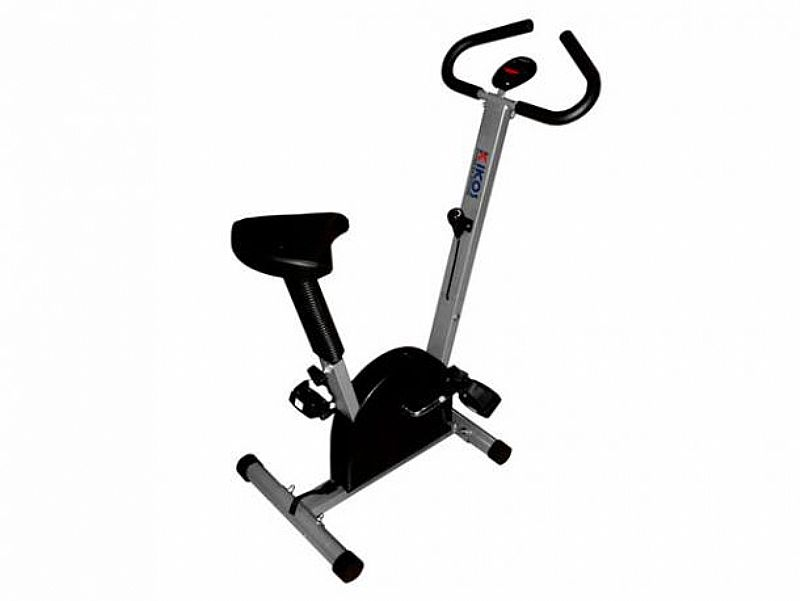 Bicicleta Ergometrica Vertical Kikos HC3015 - 6 Niveis de Esforco e Monitor Scan c/ 4 Funcoes