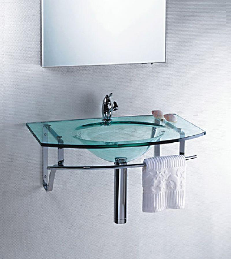 Lavatorio de Vidro - Clean 70 x 42 cm
