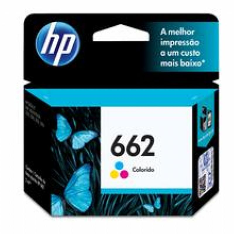 Cartucho de Tinta HP 662 Tricolor