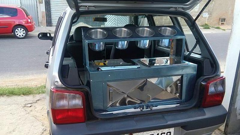 Fiat Uno - Kit Hot -Dog Completo - 2001