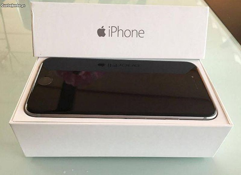 Iphones 6 Cores Branco ou preto Completos