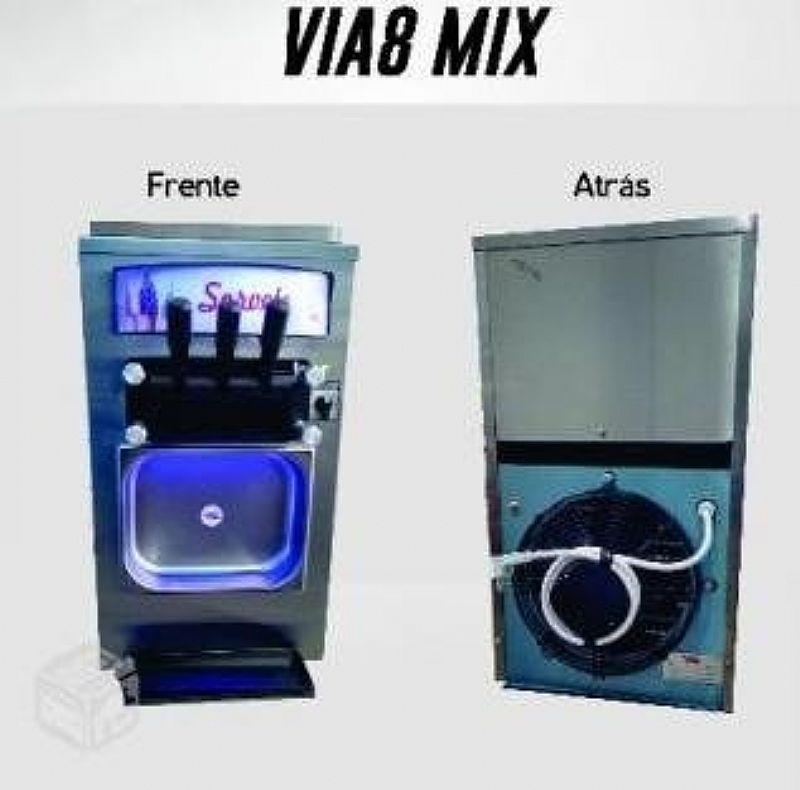Maquina De Sorvete Expresso Via8 Mix