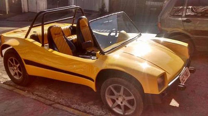 Buggy Terral amarelo - 1989