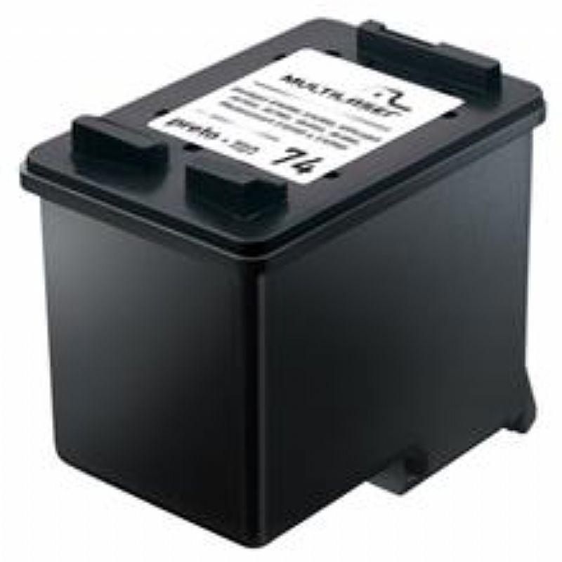Cartucho Jato de Tinta HP 74 14ml Preto CO74X Multilaser