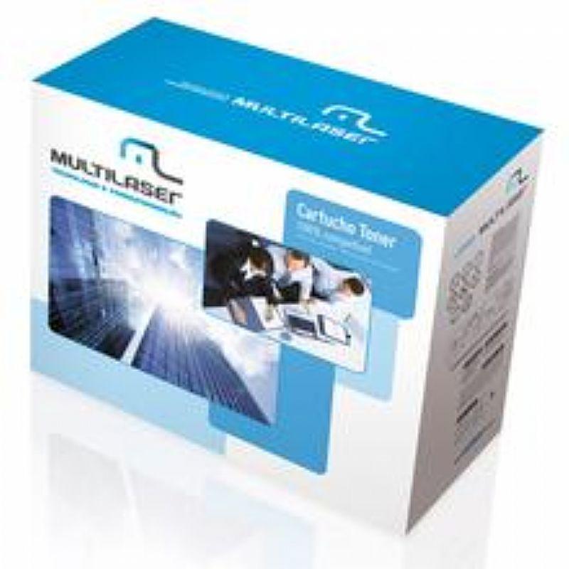 Cartucho Toner Universal Hp E Canon Lbp Preto CT0301 Multilaser