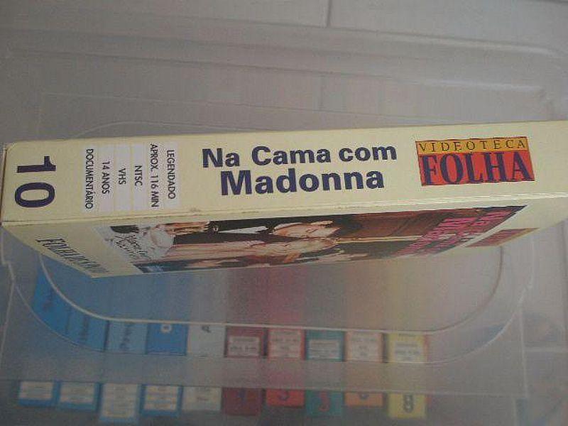 Filme em VHS: Na Cama Com Madonna