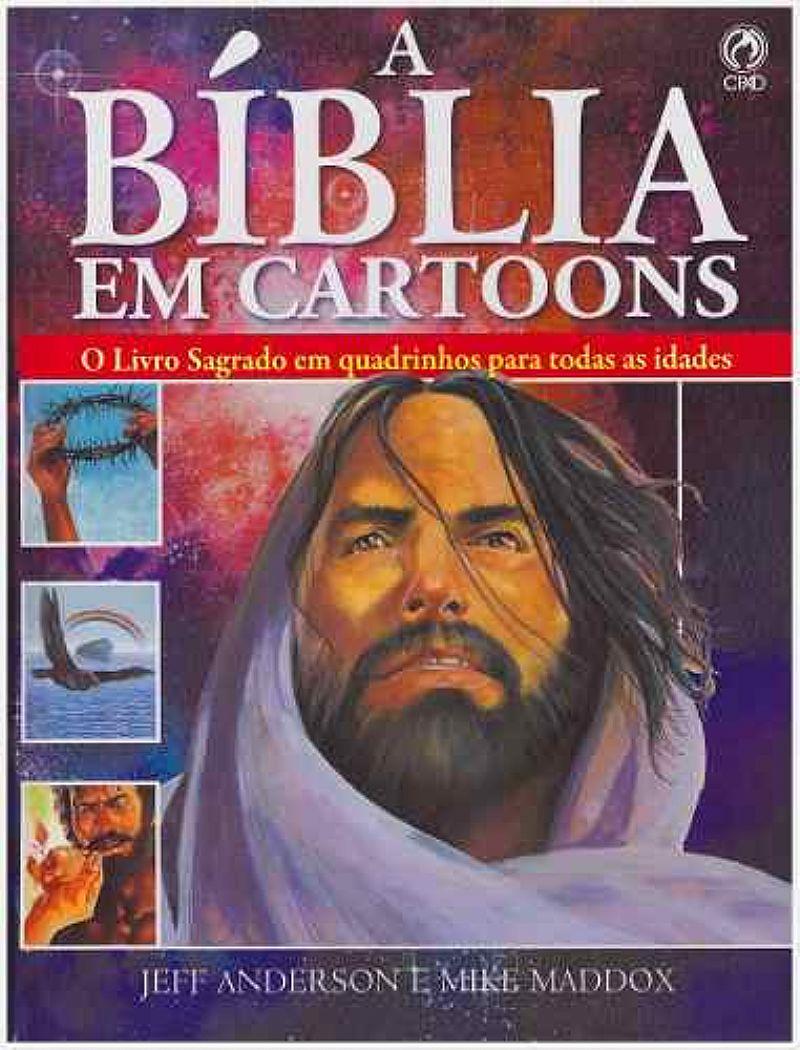 Livro: A Biblia Em Cartoons / O Livro Sagrado Em Quadrinhos