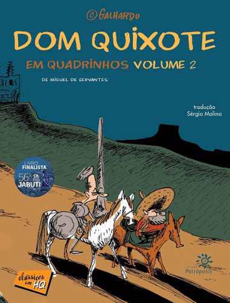 Livro Dom Quixote Em Quadrinhos - V.02 - Caco Galhardo