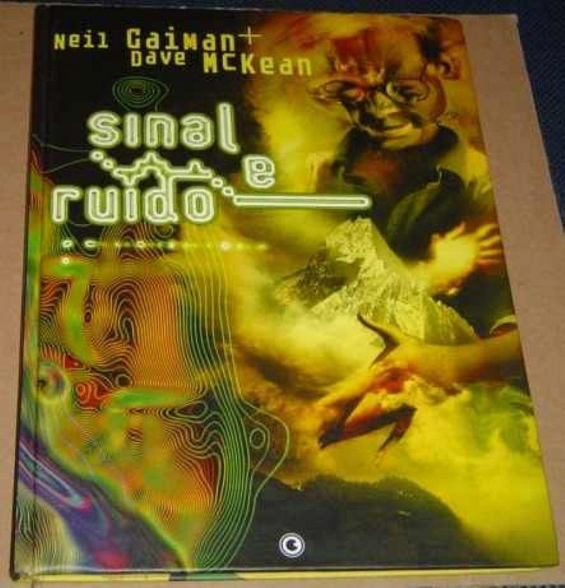 Sinal De Ruido Dave Mckean Neil Caiman Quadrinhos Livro Novo