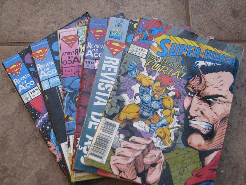 Revista Em Quadrinhos Super Homem - 129 Ao 133   125
