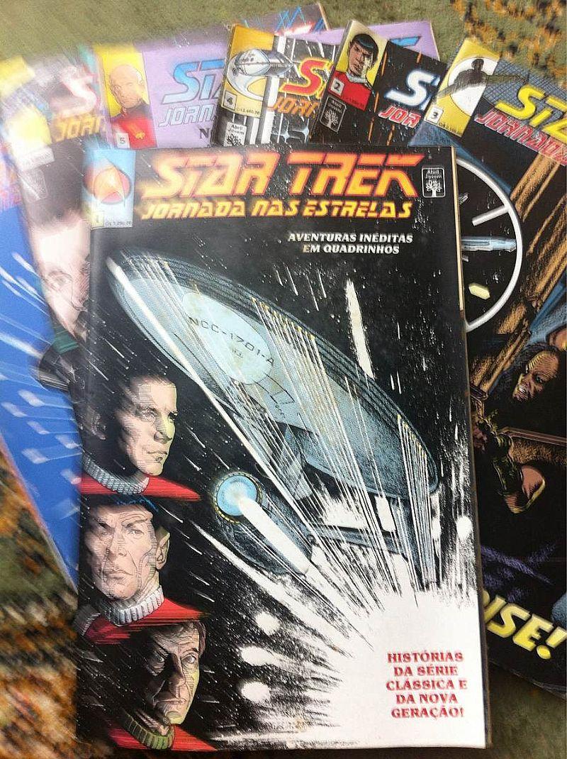 Lote De Quadrinhos Star Trek   Disco Vinil Startrek