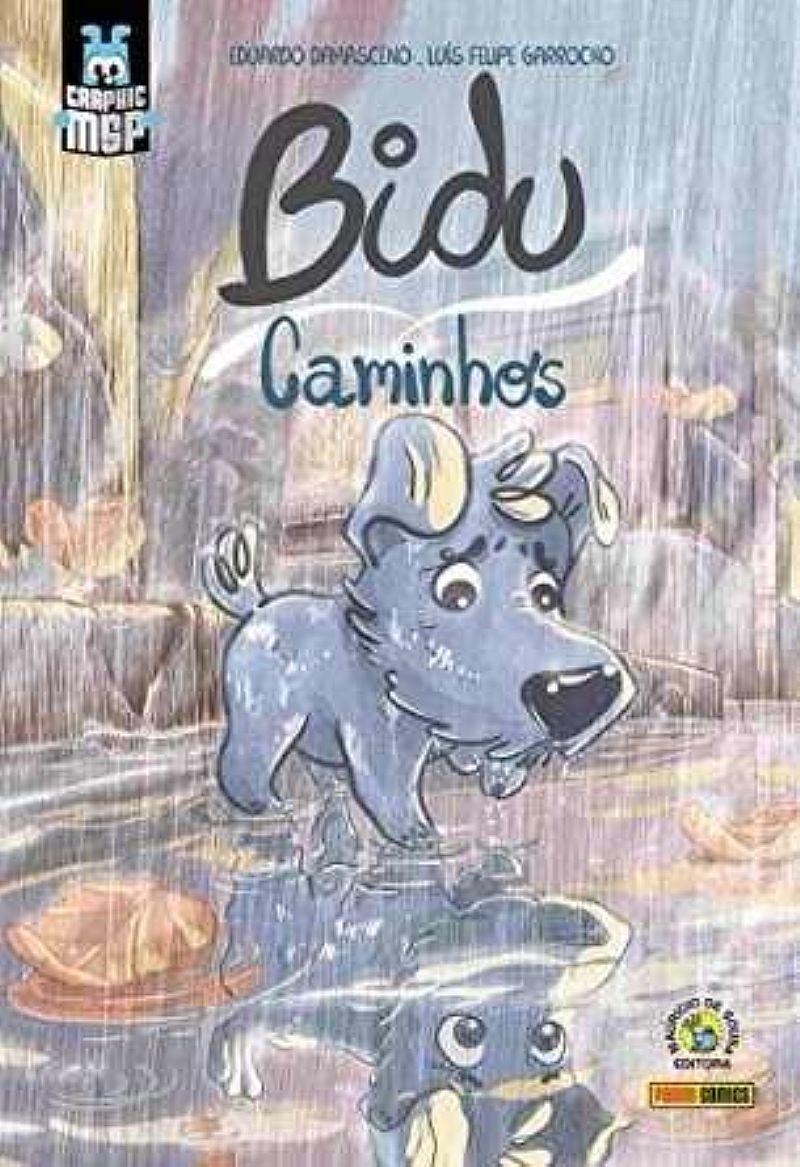 Livro Bidu. Caminhos - Volume 1 - Hqs Historia Em Quadrinhos
