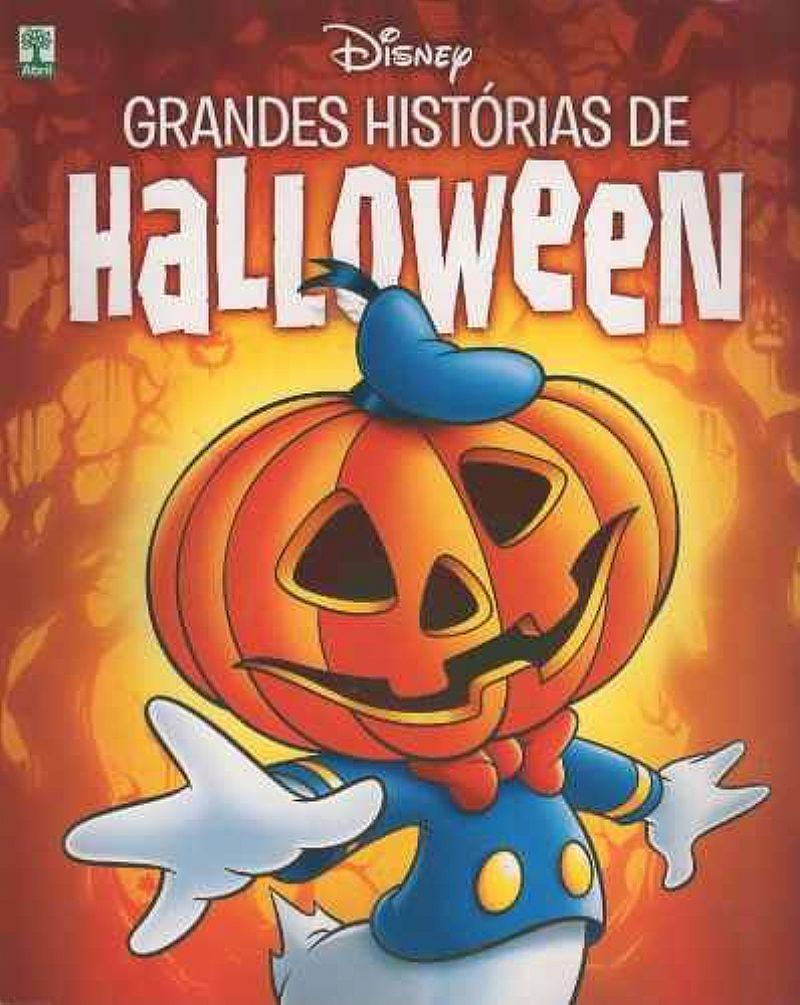 Livro Disney - Grandes Historias De Halloween