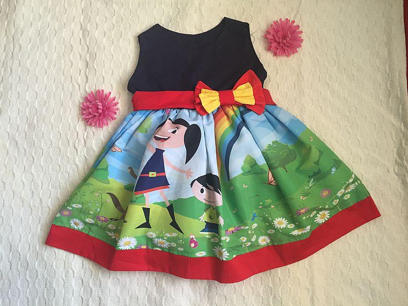 Vestido Show da Luna 100% Algodao