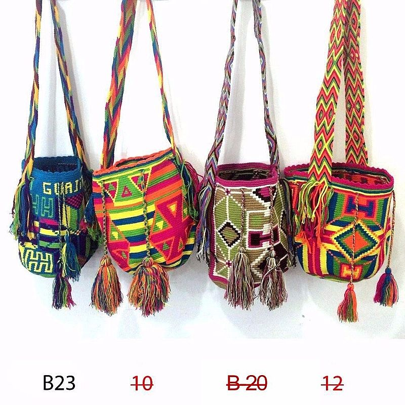 Bolsa Feminina Wayuu Nova Tendencia De Moda