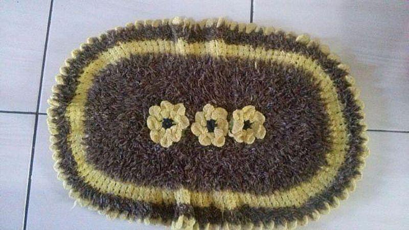 Lindos tapetes de croche para deixar sua casa mais linda