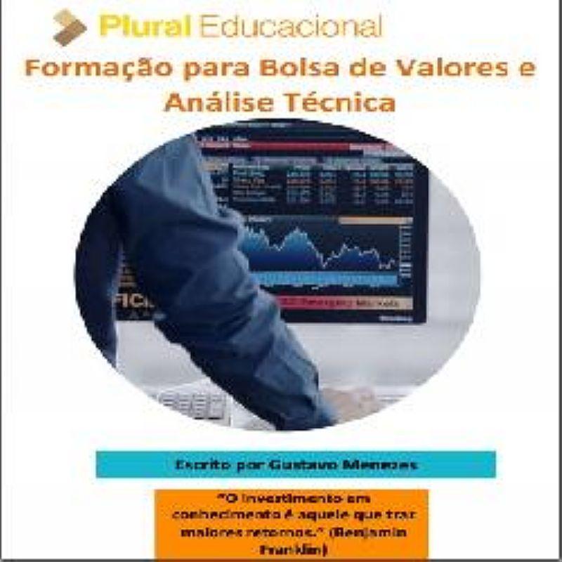 E-book Formacao para Bolsa de Valores e Analise Tecnica