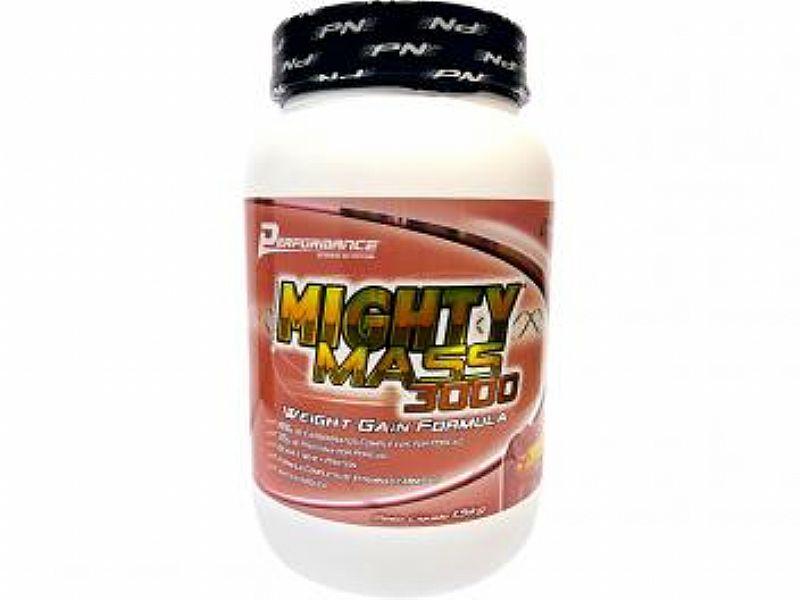 Hipercalorico Mighty Mass 3000 1, 5 kg - Performance Nutrition Morango