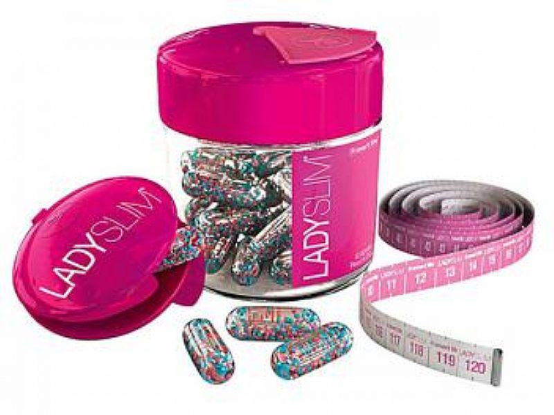 Emagrecedor LadySlim 42 capsulas liquidas - Smart Life Ideal para reduzir gordura localizada