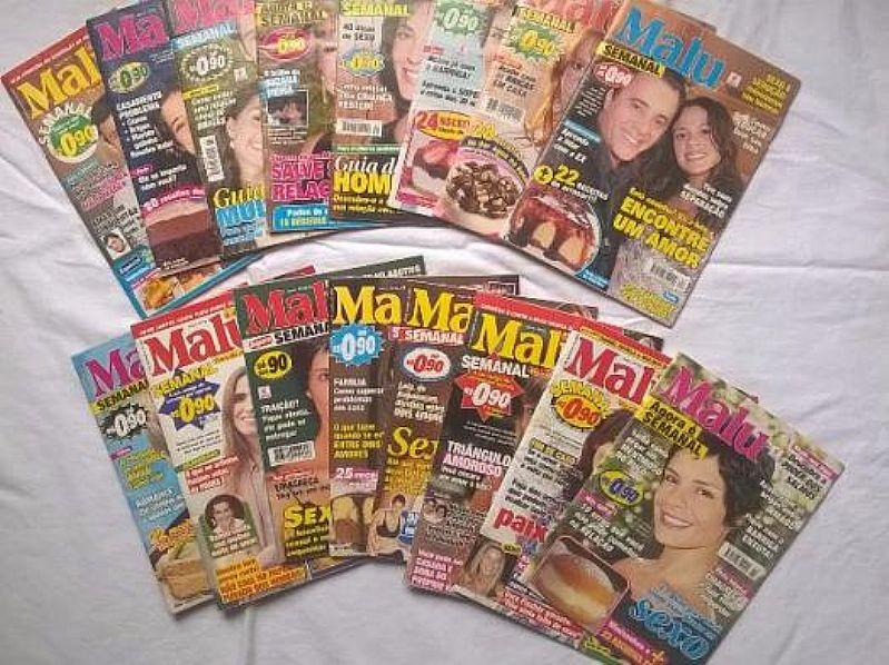 Revistas antigas em Canoas