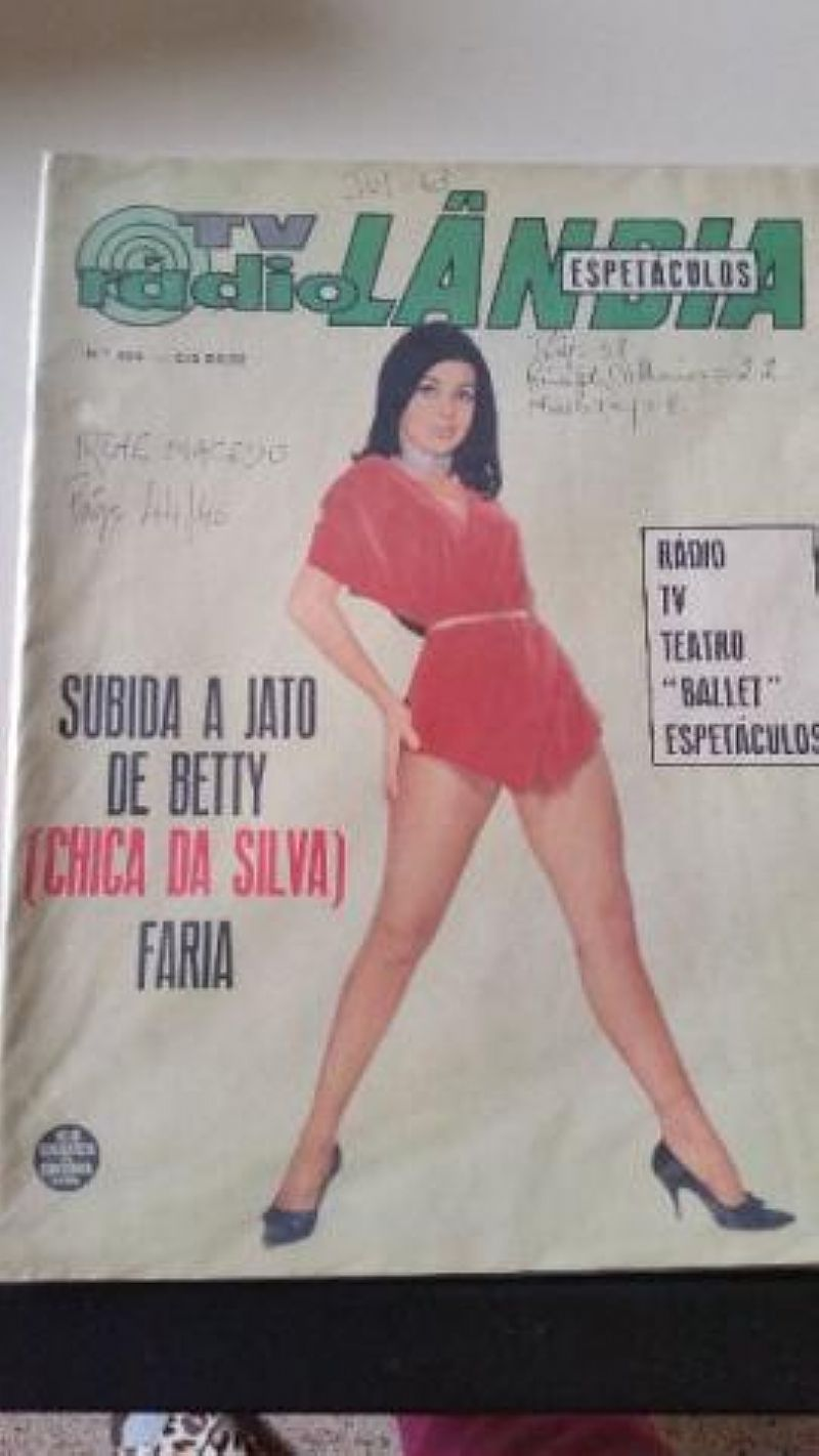 Revistas antigas em perfeito estado de conservacao para colecionadores