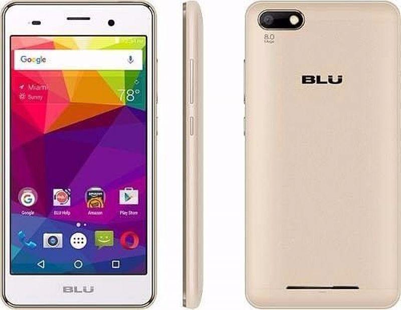 Celular Blu Dash X2 Tela 5.0 Android 6.0 Camera 8mp E 5mp 4g