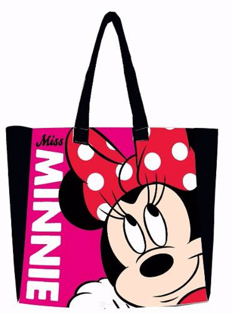 Bolsa Minnie Nylon Com Ziper