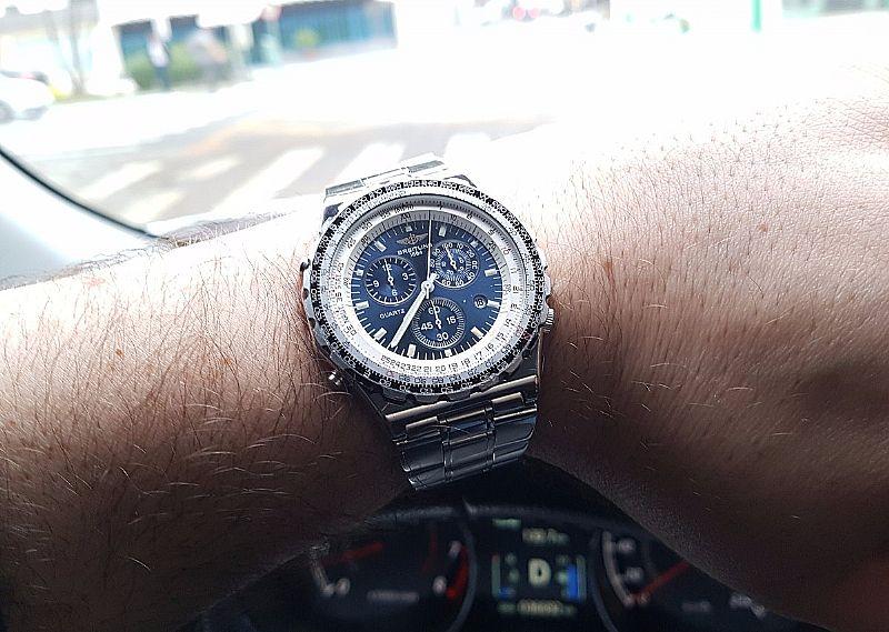 1f2ba54a3a4 Relogio Breitling Jupiter Pilot Navitimer A59027