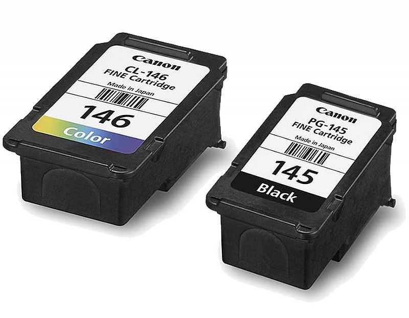 Kit Cartucho P/impressora Multifuncional 145 146 Canon