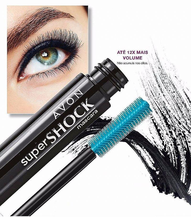 Mascara De Intenso Volume Super Shock Avon