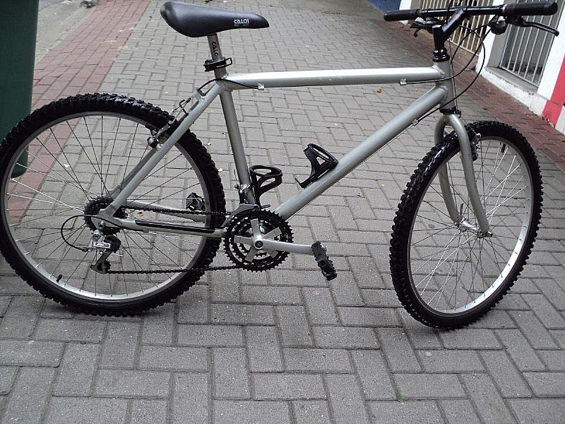 Bicicleta Caloi Aluminum Aro 26 Anos 90 Shimano Altus C10