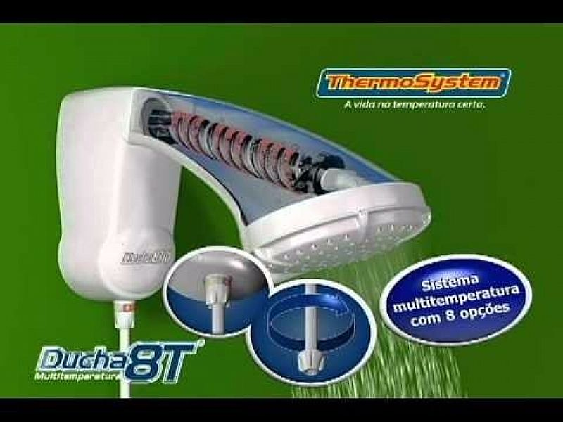 Ducha Thermosystem/ Hydra 8t 220v Top Quente
