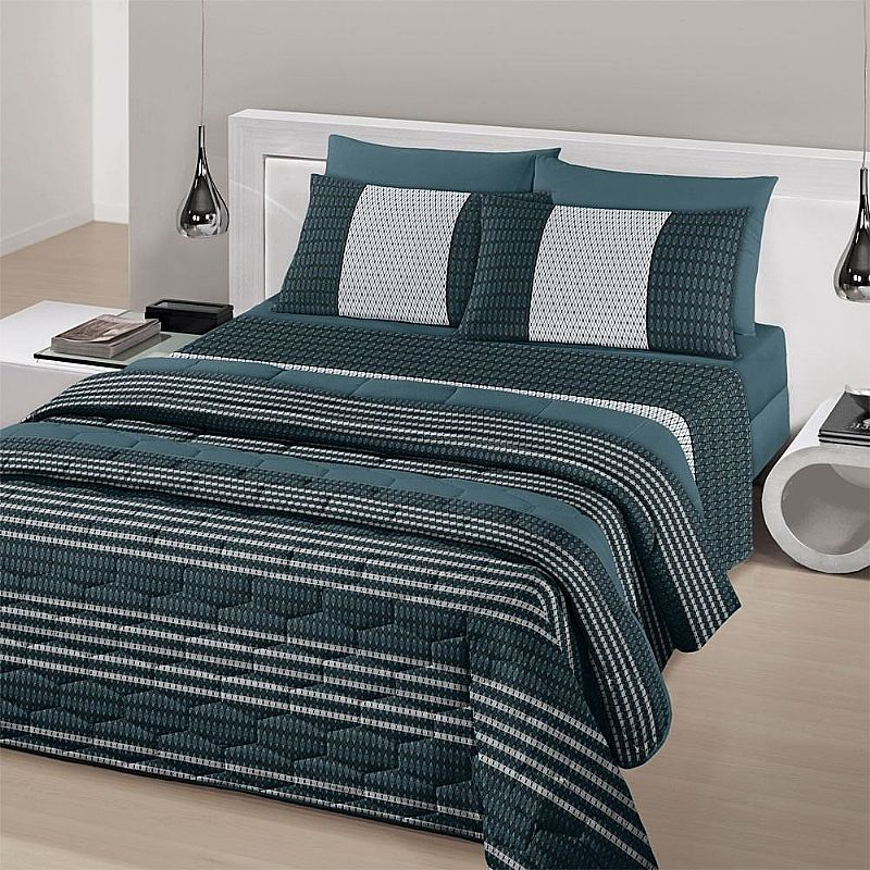 bca49e349 Jogo lencol cama casal santista royal 4 pcs 100% algodao