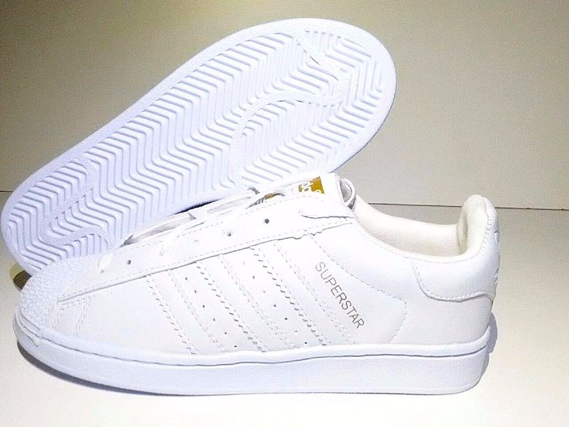 Tenis Adidas Superstar Branco Feminino Masculino Na Caixa