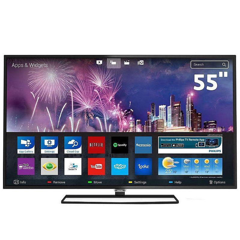 Smart Tv Led 55 Full Hd Philips 55pfg5100/78 Com Hdmi E Usb