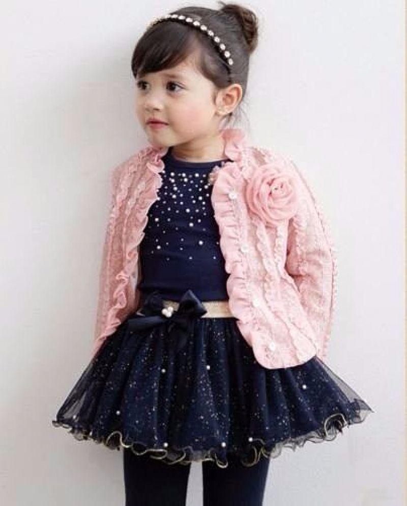 Vestido Conjunto Festa Infantil Importado Pronta Entrega