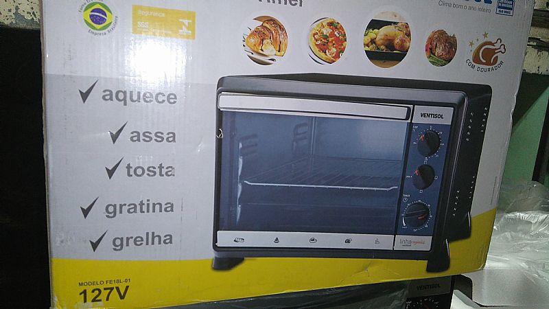Forno Eletrico 18 Litro Ventisol