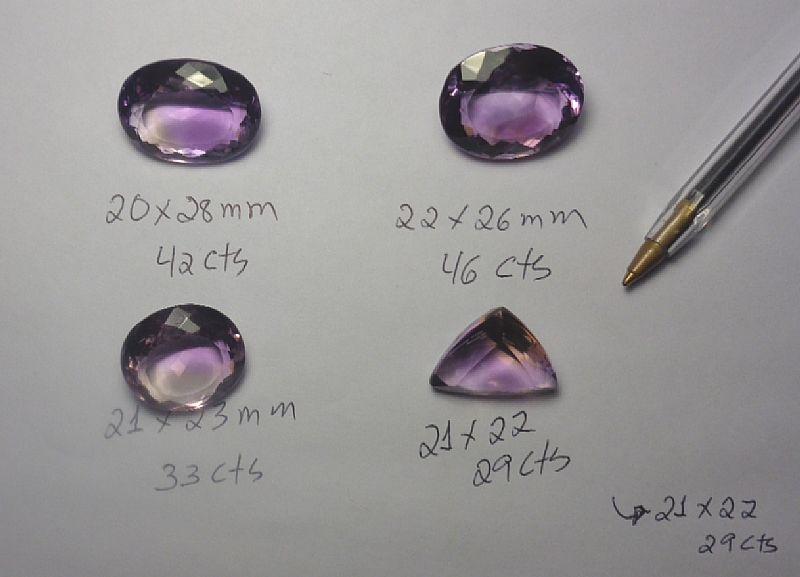 lote de ametista com 100 cts ( 20 gramas - 20 pedras )