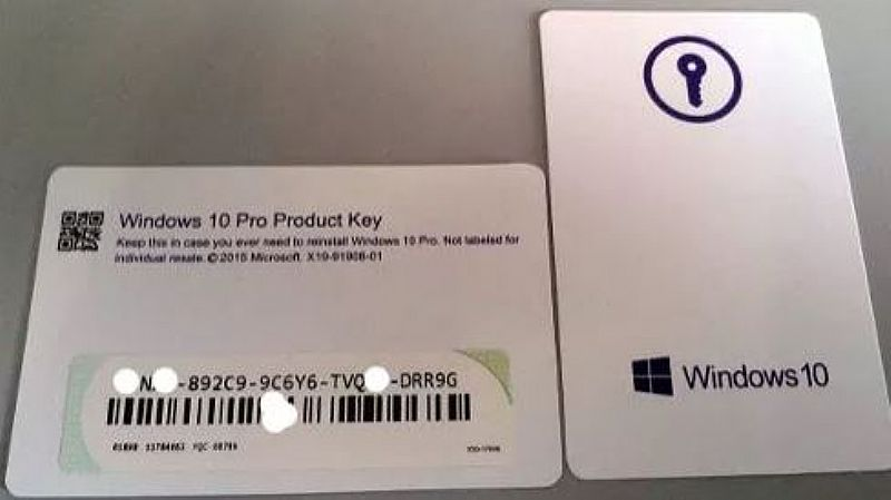 Windows 10 Pro Cartao C\ Key Full FPP Novo