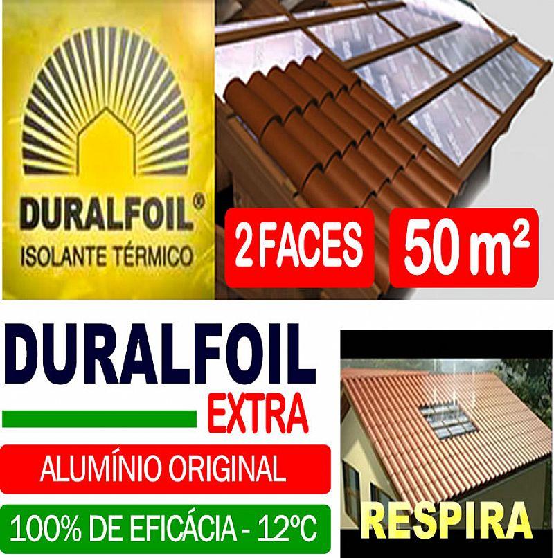 Duralfoil Extra - Manta termica de subcobertura 2 faces (50m²) - Fita gratis
