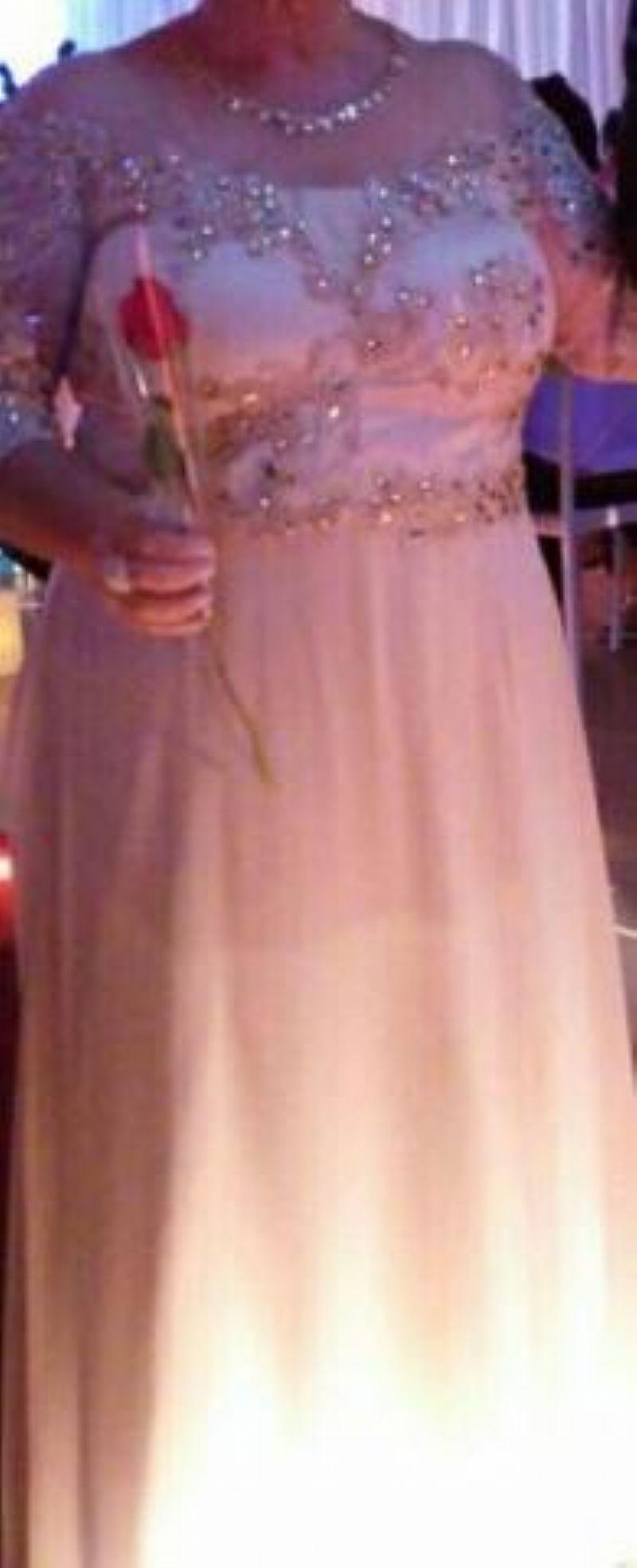 Vestido Fino p/ Casamento-Mae da Noiva