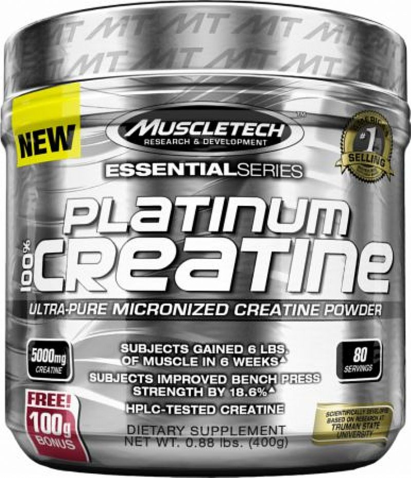 Platinum 100% Creatine - Muscletech (400g)