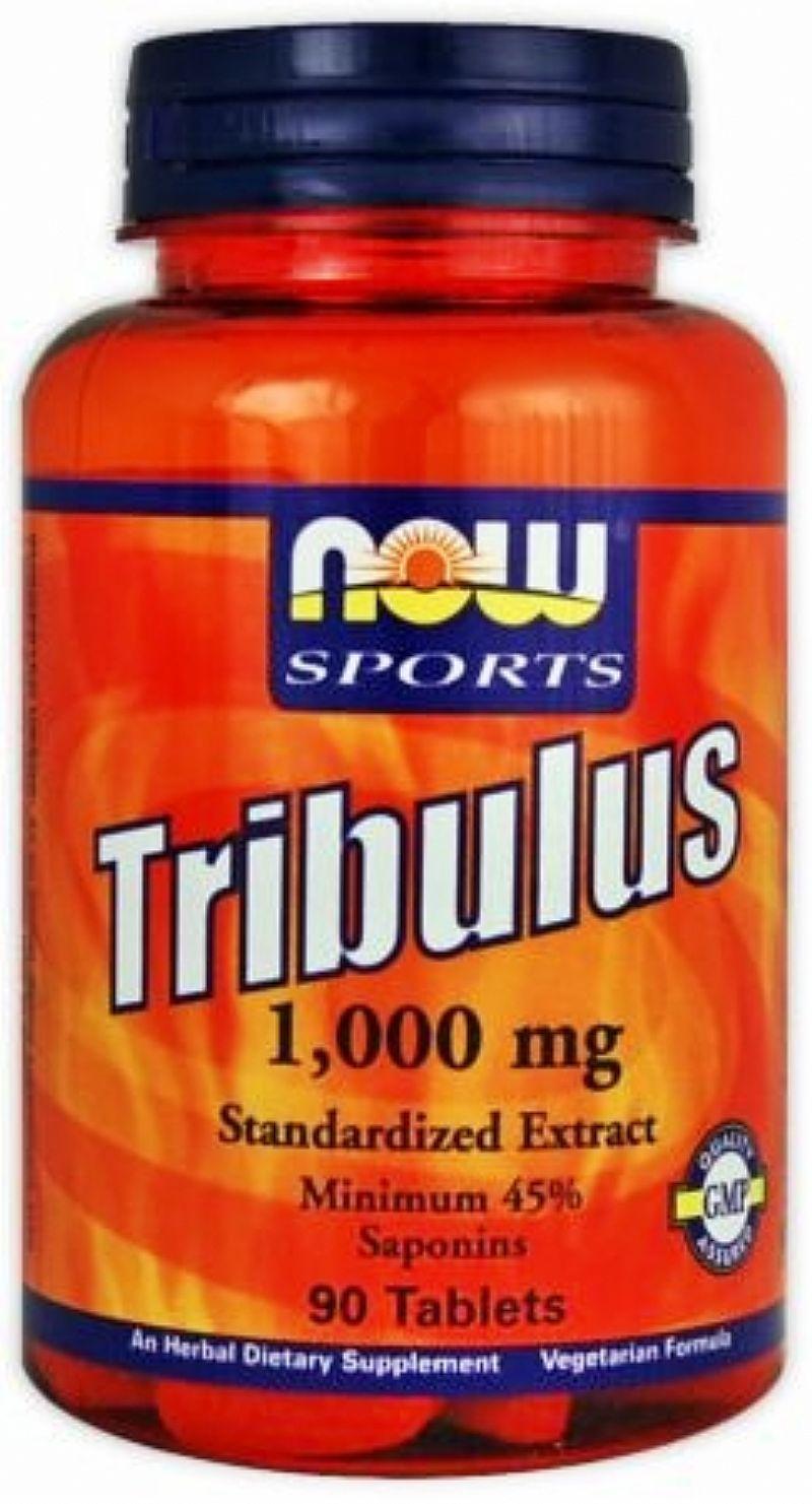 Tribulus Terrestris 1G - Now Foods (90 Capsulas)