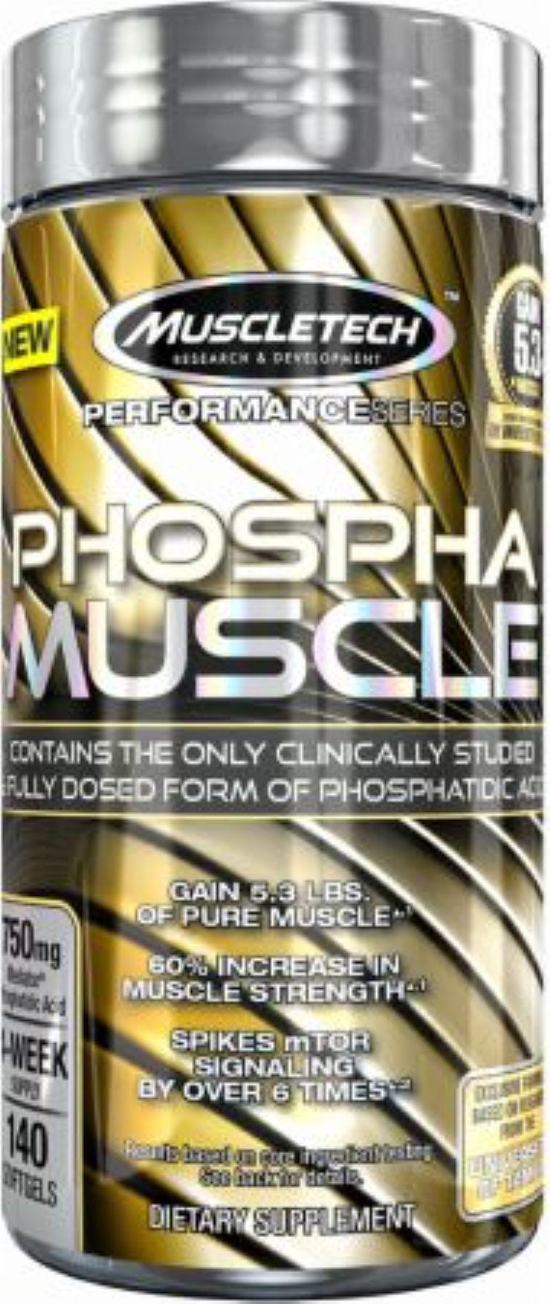 Phospha Muscle - Muscletech (140 Capsulas)