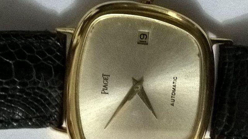 Relogio Piaget ouro automatico cx. acimetrica