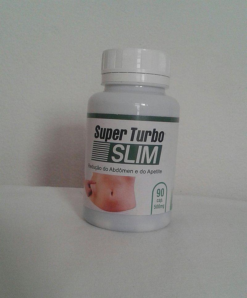 SUPER TURBO SLIM 500MG C/90 CAPS (Frete Gratis)