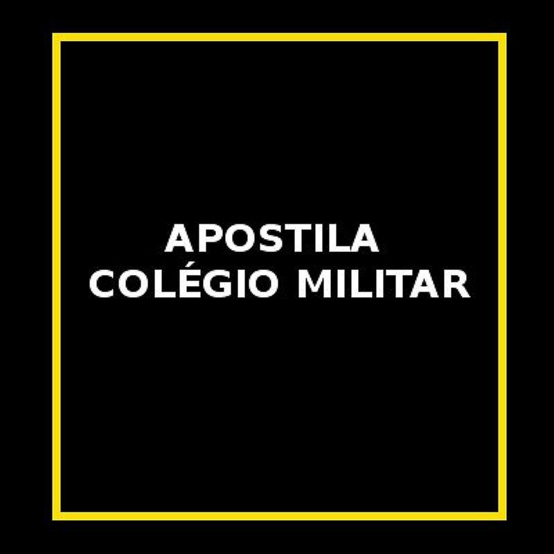 Apostila colegio militar 6º ano - entrega via email