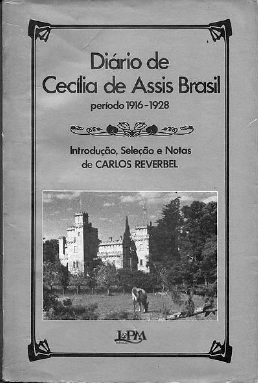 Diario de Cecilia de Assis Brasil 1916/1928