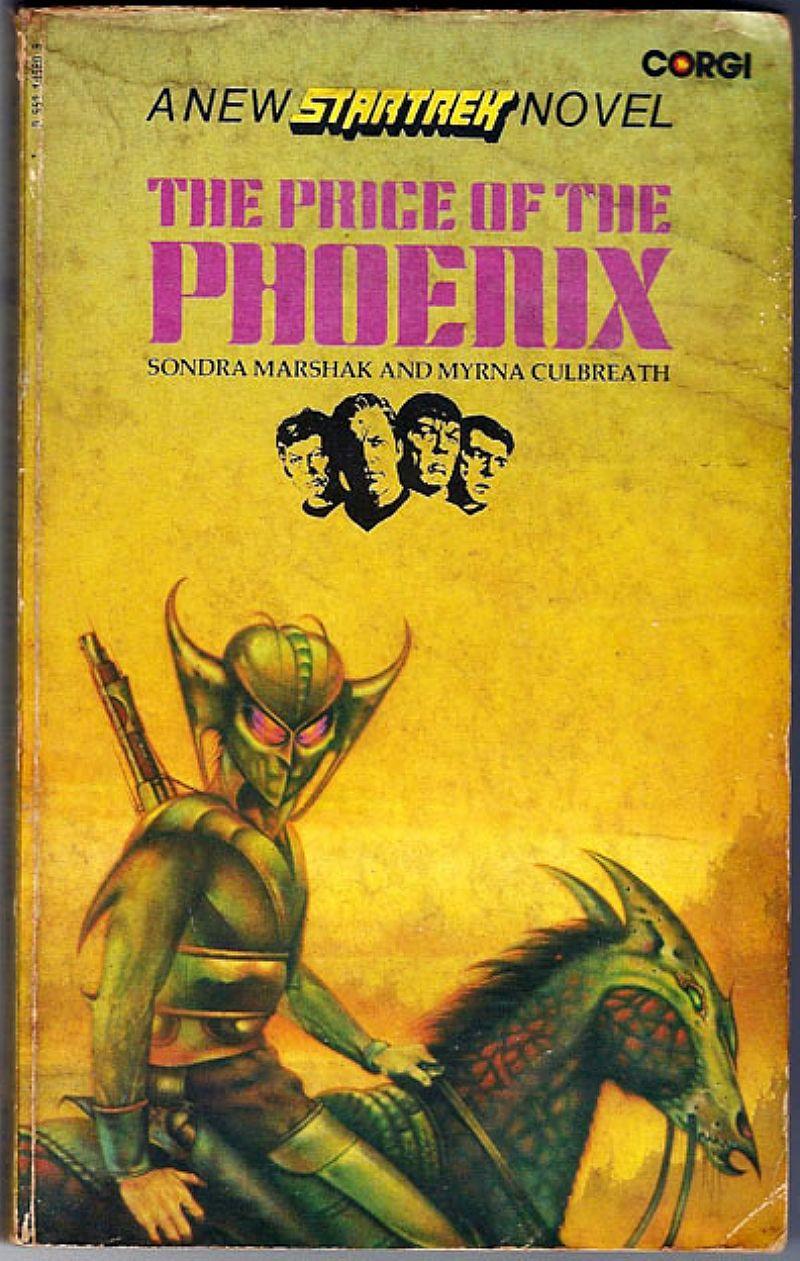 A New Star Trek Novel,  The Price Of The Phoenix,  Totalmente Em Ingles,  Rarissimo Mesmo